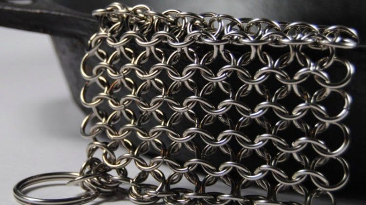 Chain Mail Cast Iron Scrubber Review