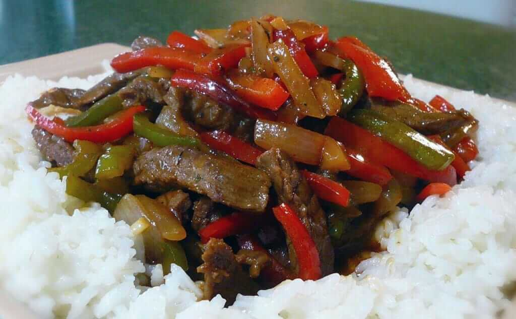 Classic chinese pepper steak recipe cookinghacks pepper steak is one of the classic take out items of chinese food restaurants and take out stands across the country while it bears little resemblance to forumfinder Choice Image